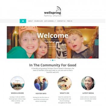 Wellspring-Family-Church-website